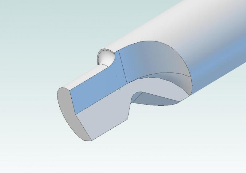 ID Recess Form and Chamfer Tool