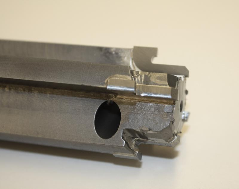 Brazed Carbide Tipped Counterbore with Trepan