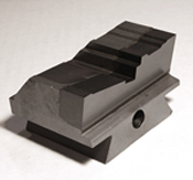 Brazed Carbide Tipped Dovetail Form Tool